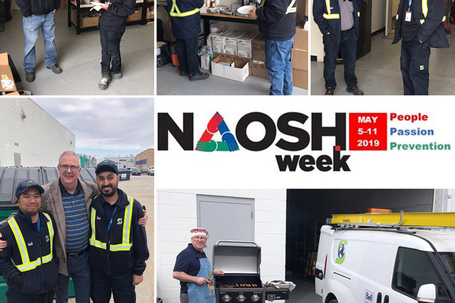 NAOSH Week 2019 at DWS