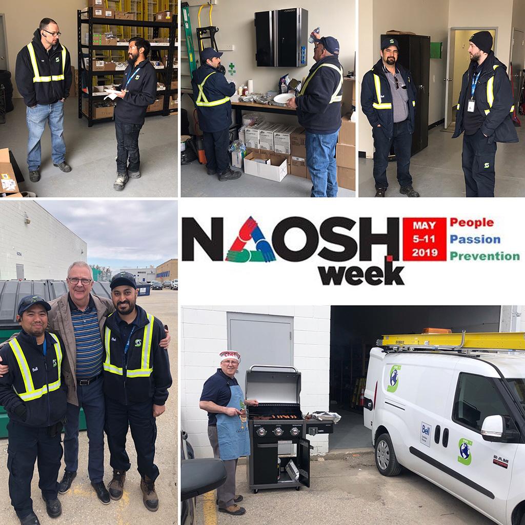 NAOSH Week 2019 at DWS